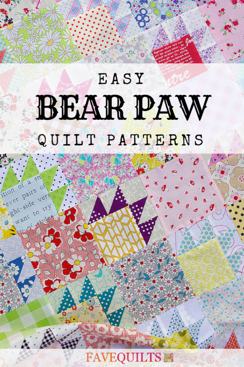 8 Easy Bear Paw Quilt Patterns Favequilts