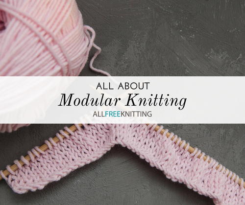 Modular Knitting How To Knit A Mitered Square Allfreeknitting