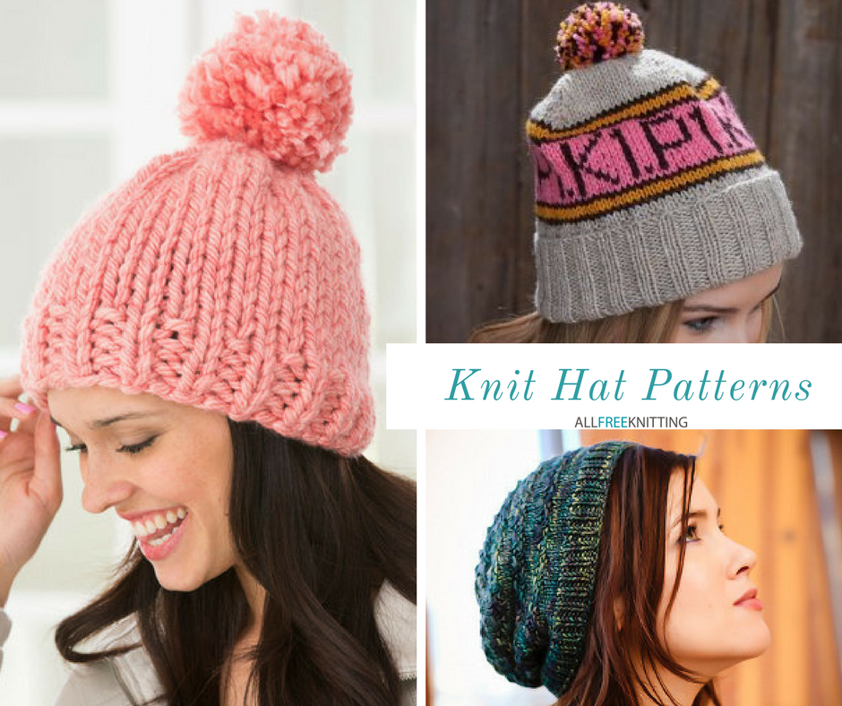 66 knit hat patterns for winter allfreeknitting dt1010fo
