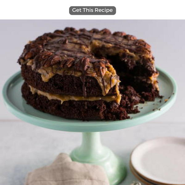 7 easy german dessert recipes recipelion easy german chocolate cake forumfinder Images
