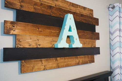Rustic Wood Nursery Decor