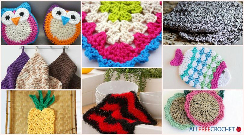 21 Must Make Free Scrubbie Crochet Patterns Allfreecrochet