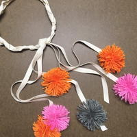 Braided Pom Pom Headband DIY