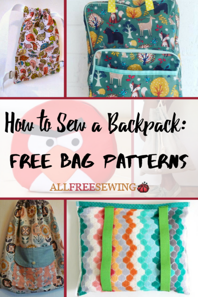 How to Sew a Backpack: 19 Free Bag Patterns | AllFreeSewing.com