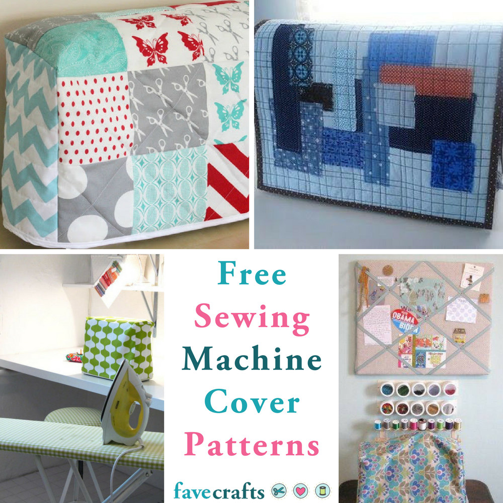 15 Free Sewing Patterns for Machine Covers | FaveCrafts.com