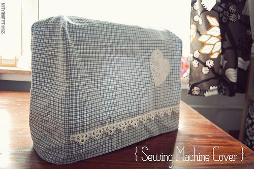 I Heart Sewing DIY Sewing Machine Cover