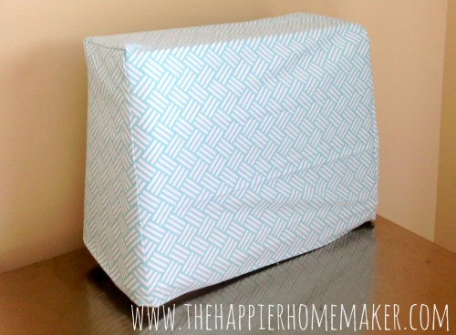 Simple DIY Sewing Machine Cover