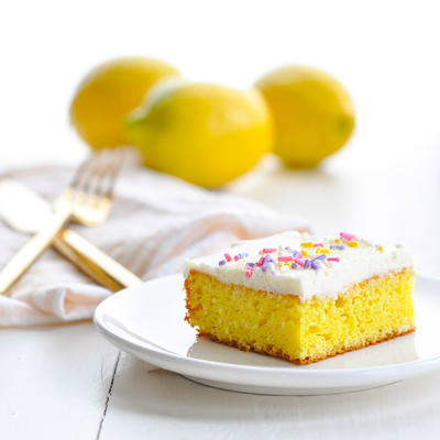 Fannie's Frosted Lemon Bars