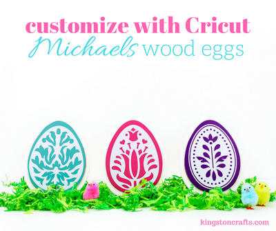 Customizing Wooden Easter Eggs