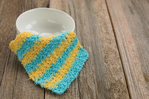 Scrubby Moss Stitch Dishcloth