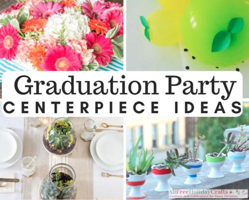 Creative ideas for graduation centerpieces