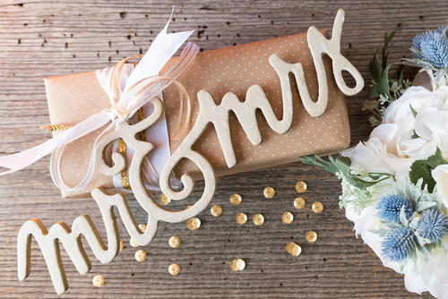 Customized Wedding Gift Topper