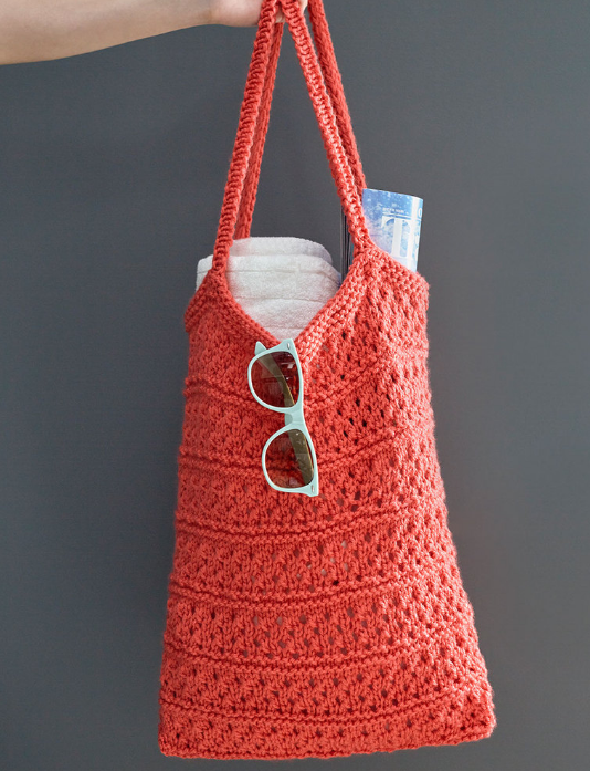 Breezy Knit Market Bag