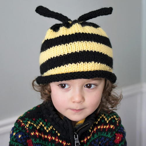 Bumble Bee Hat Knitting Pattern Allfreeknitting