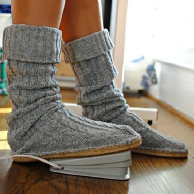 Upcycled DIY Sweater Boots
