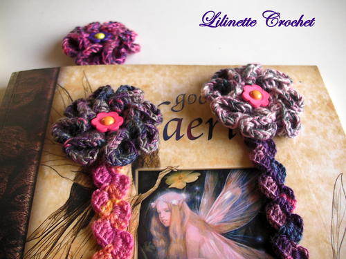 Flower Power Bookmark, Headband or Bracelet
