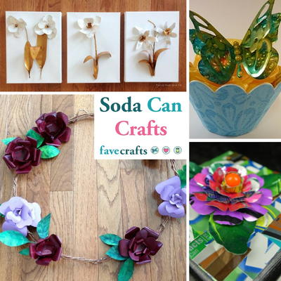 14 Soda Can Crafts