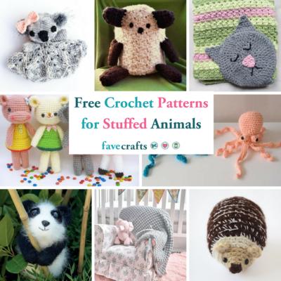 crochet stuffed dog pattern