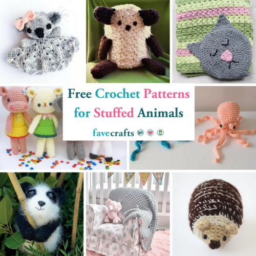 46 Free Crochet Patterns For Stuffed Animals And Loveys Favecrafts