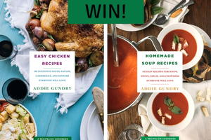 Easy Chicken Recipes and Homemade Soup Recipes MEGA Cookbook Giveaway