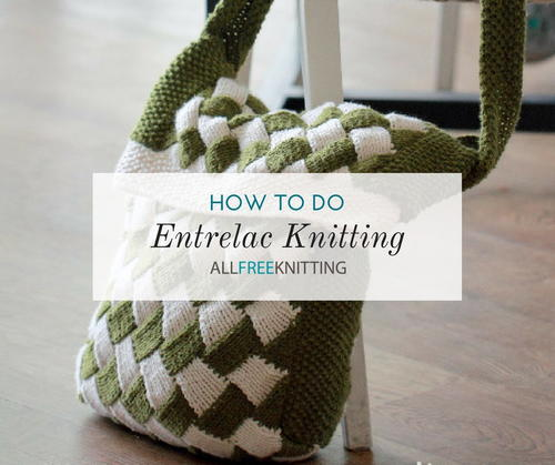 Entrelac Knitting How To Entrelac Knit Allfreeknitting
