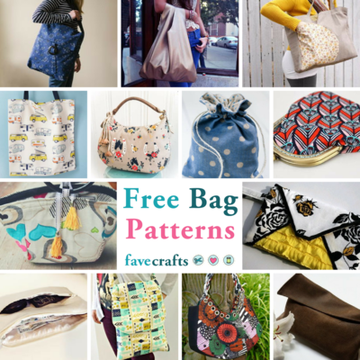 Free Bag Patterns: 40+ Sewing Patterns for Purses, Tote Bags, and ...