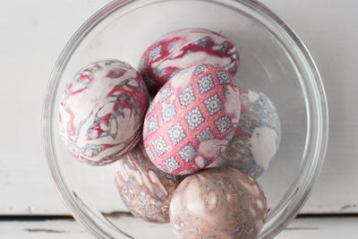 Silk Tie Easter Eggs