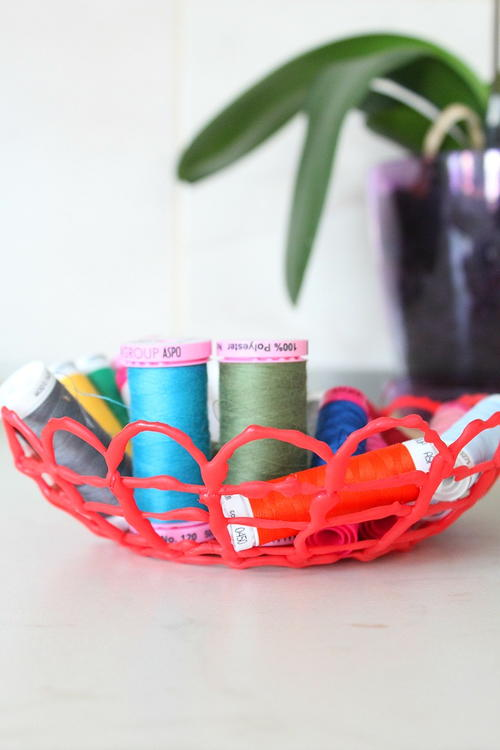 DIY Hot Glue Bowl