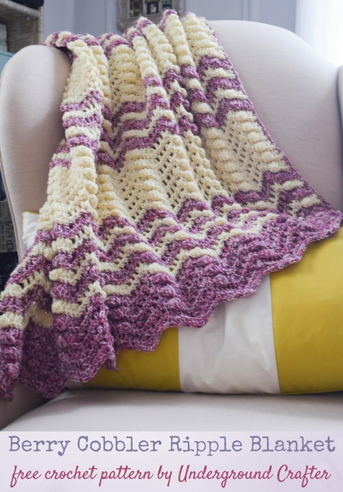 Berry Cobbler Ripple Blanket