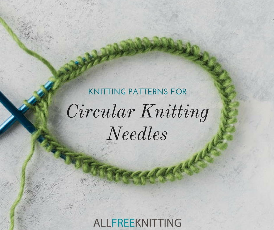 13 Circular Knitting Patterns for Practice | AllFreeKnitting.com