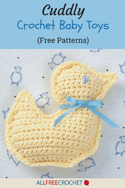 18 Cuddly Crochet Baby Toys Free Patterns