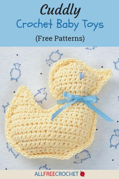 18 Cuddly Crochet Baby Toys (Free Patterns) | AllFreeCrochet.com