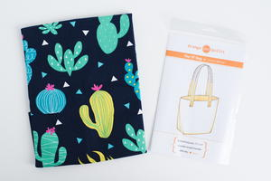 Stylish Bag Pattern and Fabric Bundle Giveaway