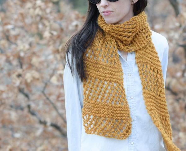 18 Lace Knitting Patterns For Scarves Allfreeknitting