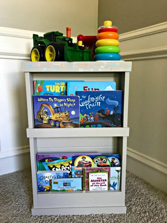 DIY Hidden Toy Storage