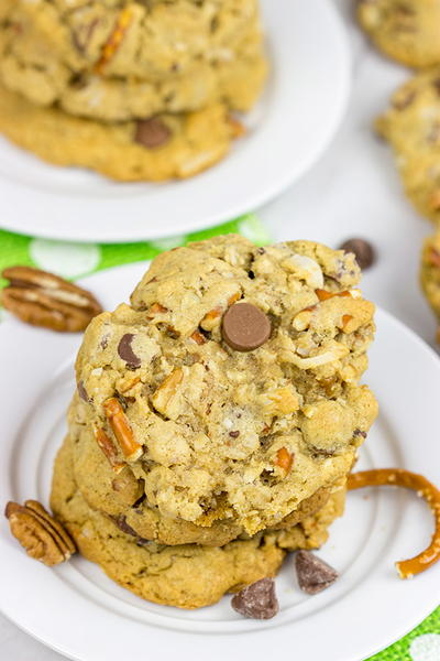 Kitchen Sink Chocolate Chip Cookies