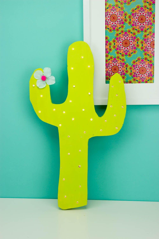 Diy Marquee Cactus