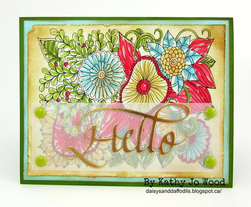Trio of Bright and Sweet Note Cards