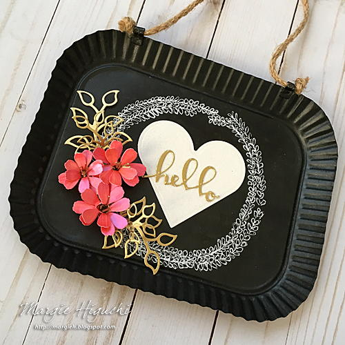 DIY Hello Chalkboard Sign