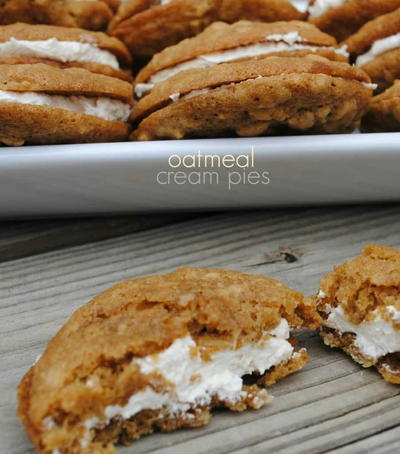 Copycat Little Debbie Oatmeal Cream Pies