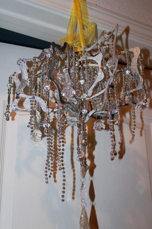 Handmade chandelier favecrafts handmade chandelier aloadofball Gallery