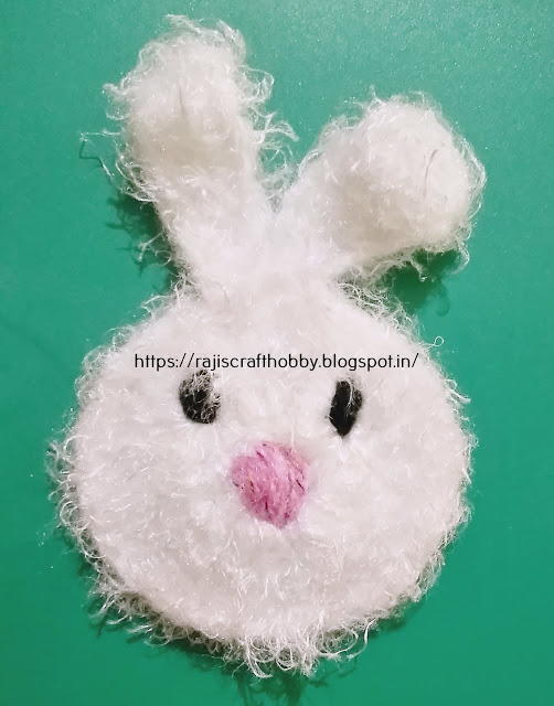 Easy Crochet Bunny Applique Pattern Allfreecrochet