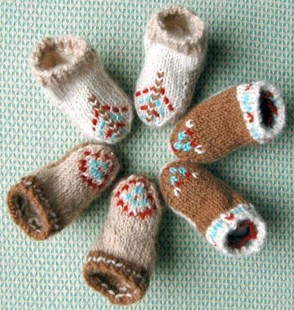 Baby Moccasins AllFreeKnitting Unique Baby Moccasins Pattern