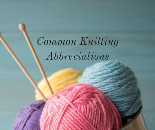 Knitting Terminology Explained : Knitting terms explained allfreeknitting