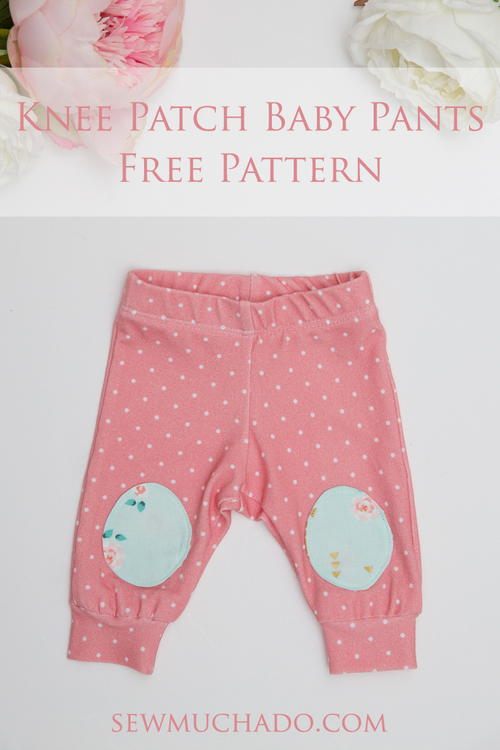 Knee Patch Baby Pants Free Pattern