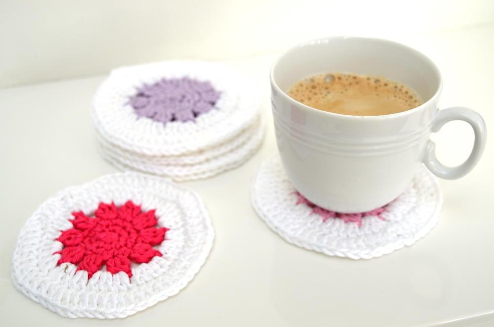 Fun Crochet Coasters