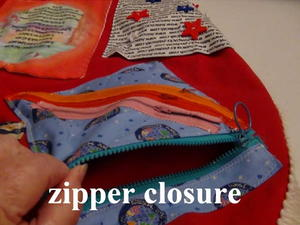 Sew Rectangles To Zipper As Shown Form Pocket