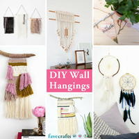 DIY Wall Hangings: 14 Wall Art Ideas to Obsess Over