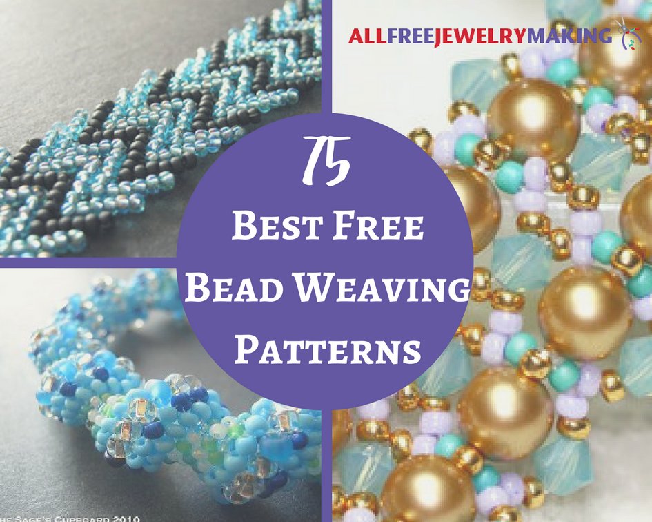 75 Best Free Bead Weaving Patterns Allfreejewelrymaking Com