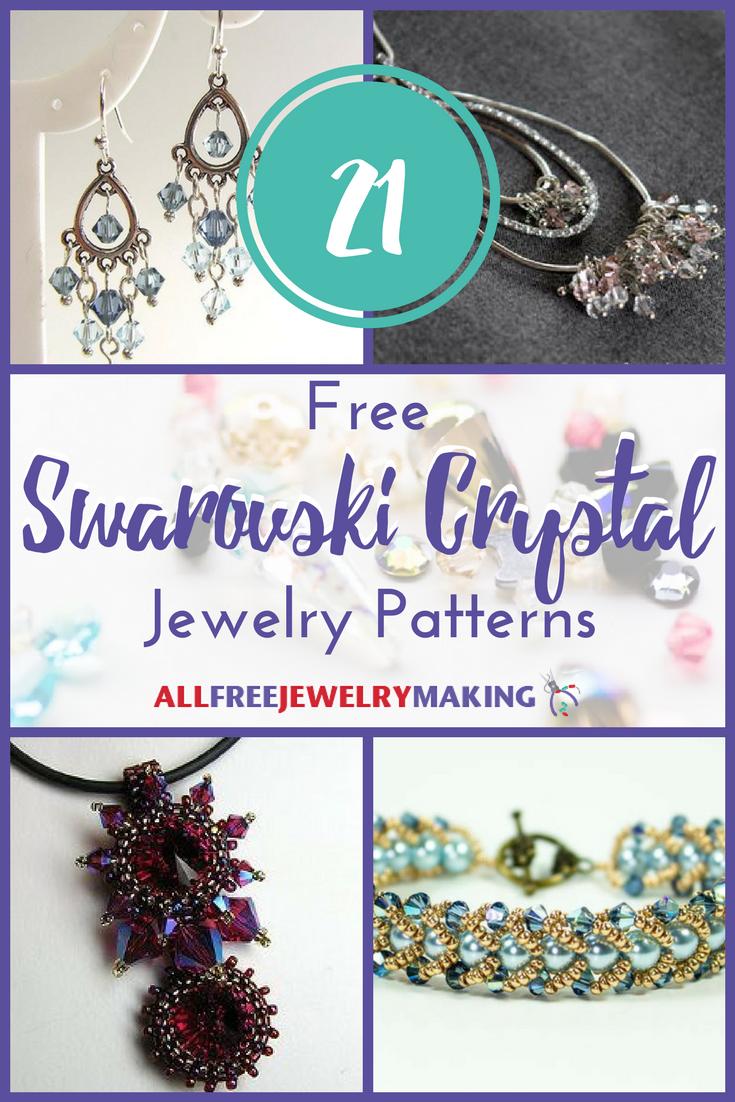 21 Free Swarovski Crystal Jewelry Patterns | AllFreeJewelryMaking.com
